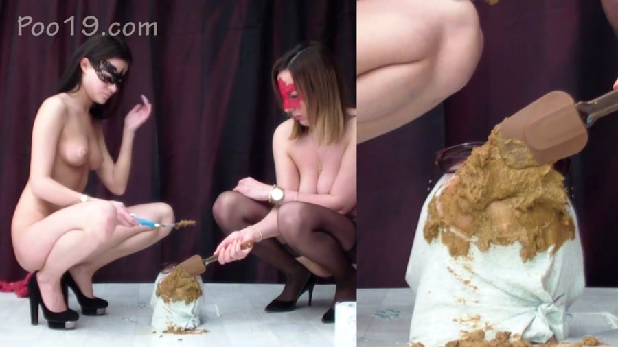 Femdom Scat: (Smelly Milana) - The smell of ass girls who want to shit [FullHD 1080p] - Humiliation, Face Sitting