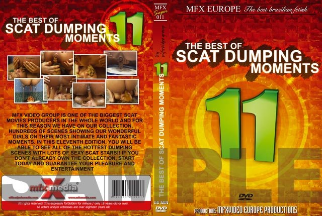 MFX Europe: (Agata Ventury, Michele Santos, Jessica, Dyana) - MFX-S011 - The Best of Scat Dumping Moments 11 [DVDRip] - Lesbians, Bizarre