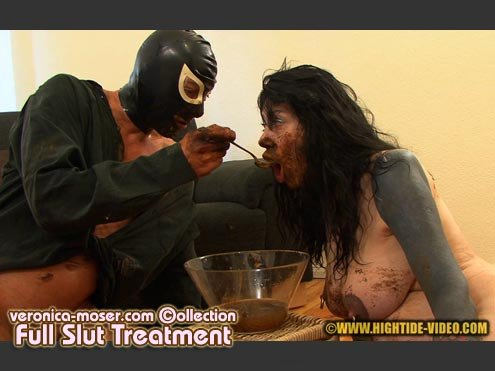Veronica-Moser.com: (Veronica Moser,1 male) - VM22 - FULL SLUT TREATMENT [SD] - Human Toilet, Fetish