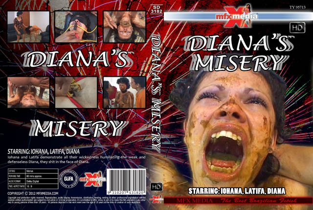 MFX Media: (Iohana, Latifa, Diana) - SD-3182 Diana's Misery [HDRip] - Domination, Brazil