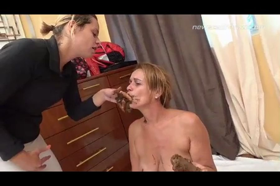NewScatInBrazil.com: (Chris, Leslie) - Pay Your Bills Оr... [HD 720p] - Lesbian, Domination