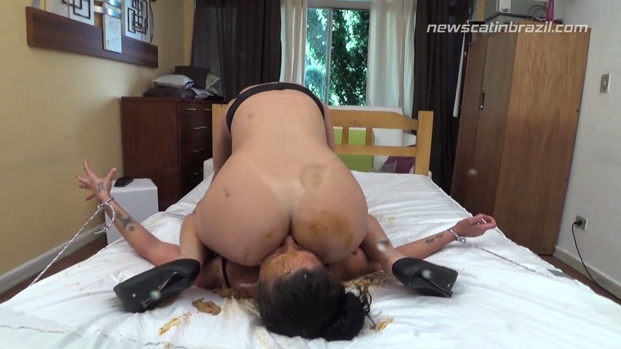 NewScatInBrazil.com: (Cindy Blueberry, Michele) - Time to Scat [FullHD 1080p] - Lesbian, Domination