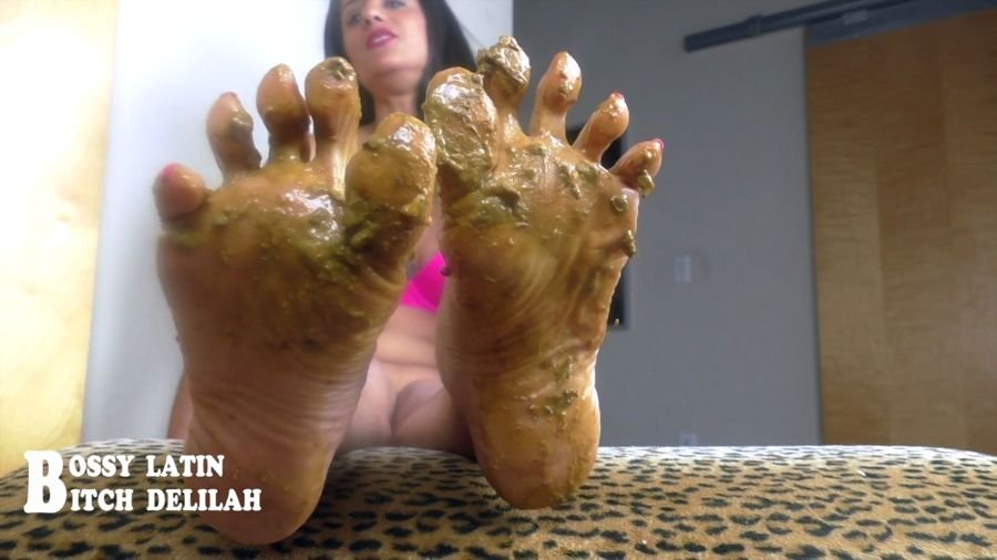 "clips4sale.com: (Bossy Latin, Bitch Delilah) - Scat Queen Delilah – Pretty ""SHITTY"" thing [HD 720p] - Mature, Foot"