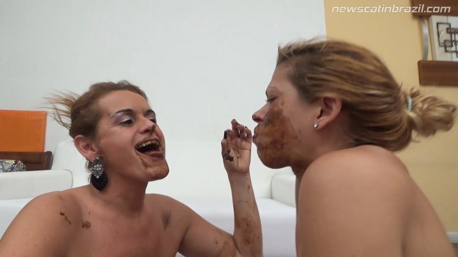 New Scat In Brazil: (Chris, Diana) - Very anxious she will meet an old friend Shit [FullHD 1080p] - Scat, Lesbian, Domination