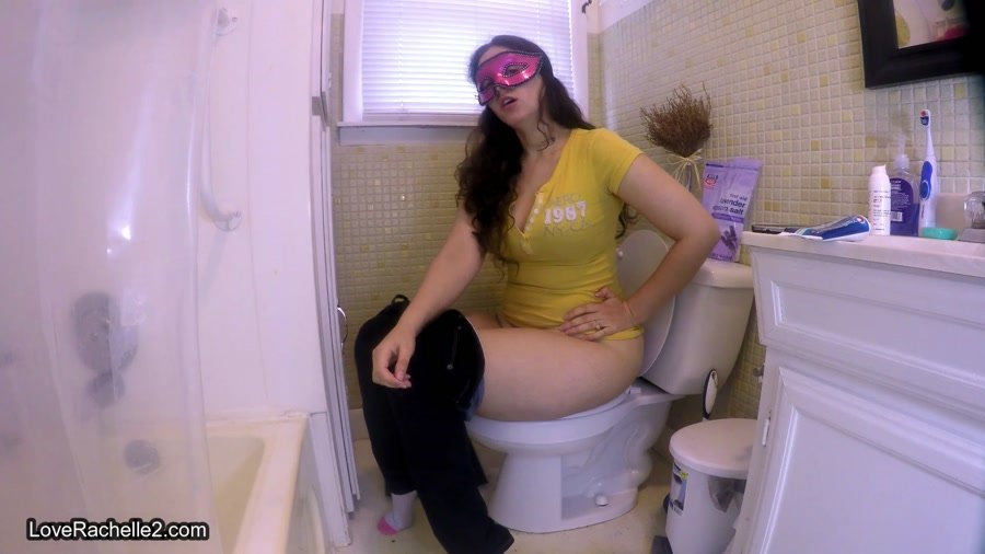 Toilet Slavery: (LoveRachelle2) - Shove Your Face Down My Toilet [FullHD 1080p] - Shitting Girls, Solo