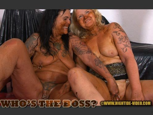 Hightide-Video: (Daria, Marlen) - WHO'S THE BOSS [SD] - Humiliation, Lesbians, Mature