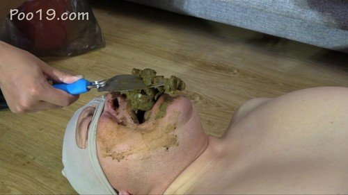 Domination Scat: (MilanaSmelly) - Today it was very difficult for him [HD 720p] - Femdom, Toilet Slavery