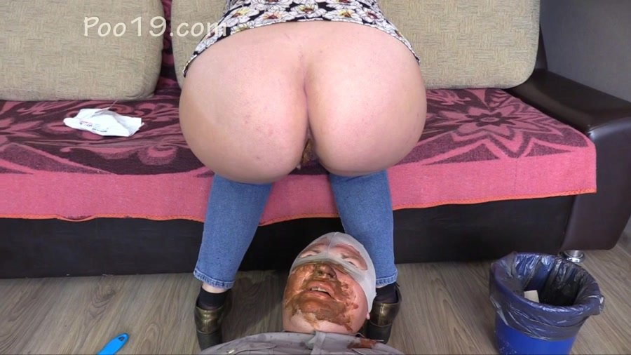 Scat Humiliation: (MilanaSmelly) - Higher humiliation 2 [HD 720p] - Femdom, Scat, Toilet Slavery