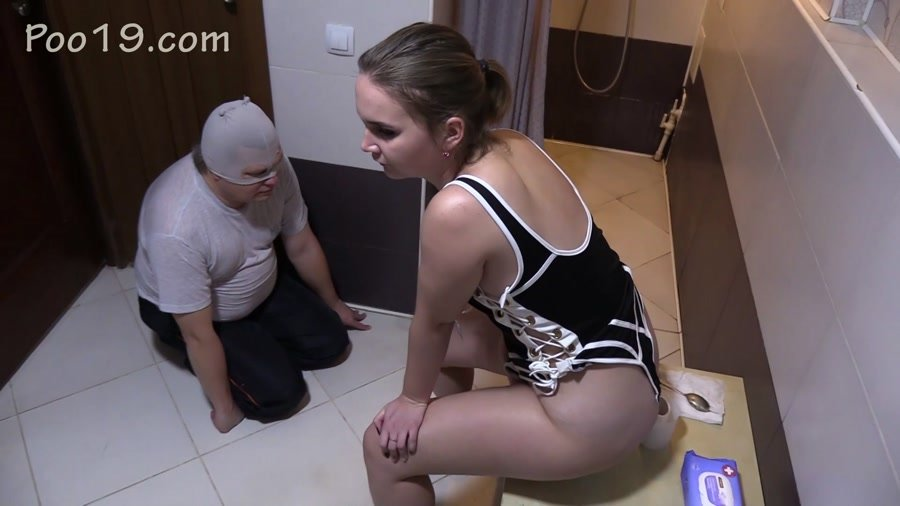 Toilet Slavery: (MilanaSmelly) - Eat girl's shit to the last piece [FullHD 1080p] - Femdom, Scat