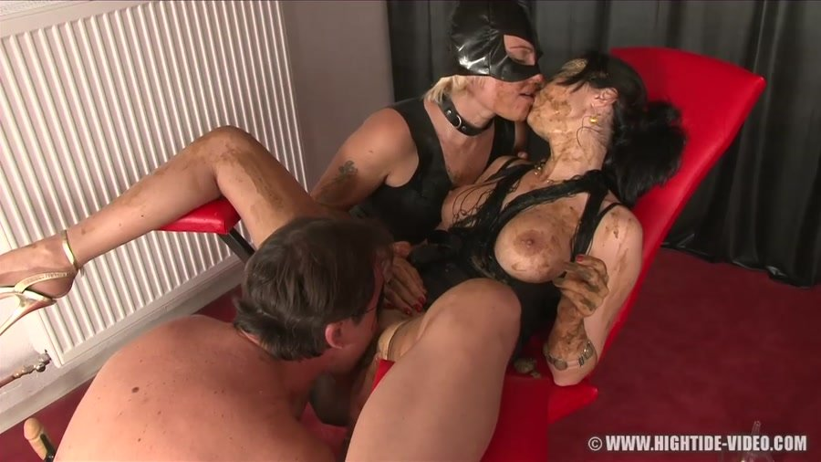 Hightide-Video: (Regina Bella, Gina, 1 Male) - Pushing the Limits 2 [HD 720p] - Human Toilet, Enema