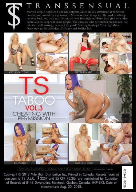 Transsensual: (TS Taboo #3) - Cheating With Permission [SD / 1.21 Gb] -