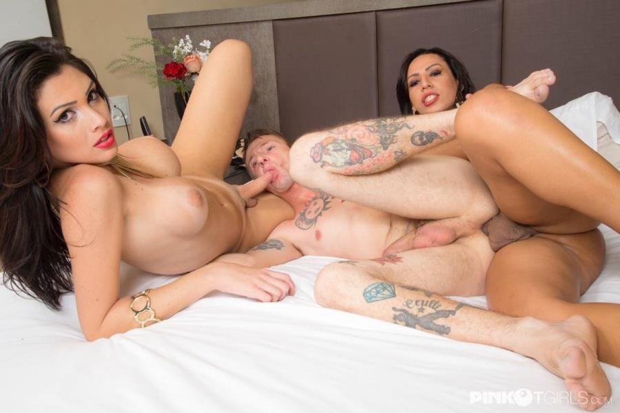 PinkOTgirls.com: (Graziella Cinturinha, Geovanna Portylla) - Three In The Healt Spa [SD / 548.29 Mb] -