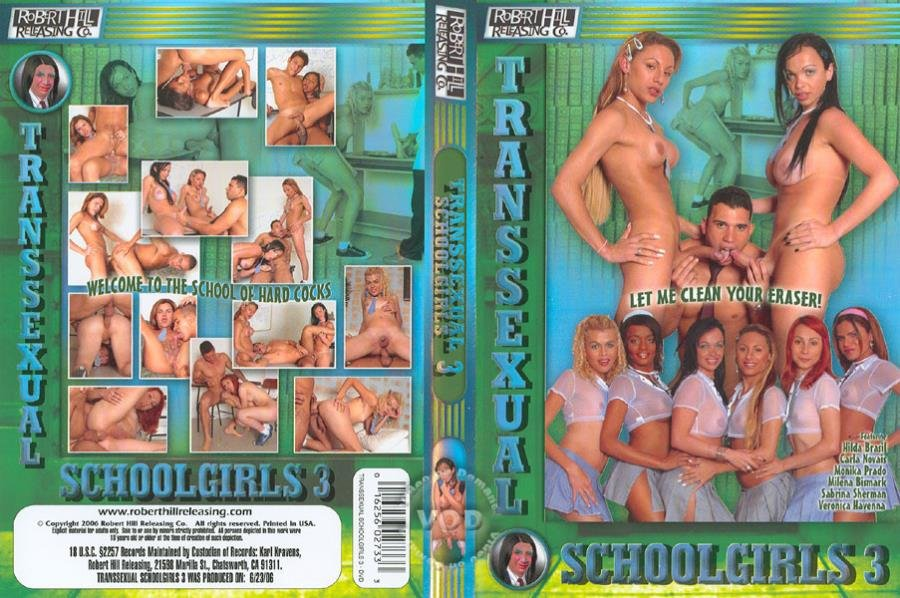 Robert Hill Releasing: (SheMale) - Transsexual Schoolgirls 3 [SD / 1.37 Gb] -