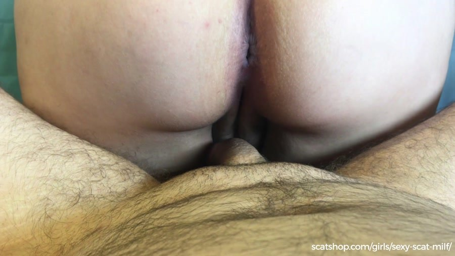 Sex Shit: (Sexy-Scat-Milf) - New Years Gift. Pee & Poo Smearing on My Ass [FullHD 1080p] - Scat Fuck, Anal