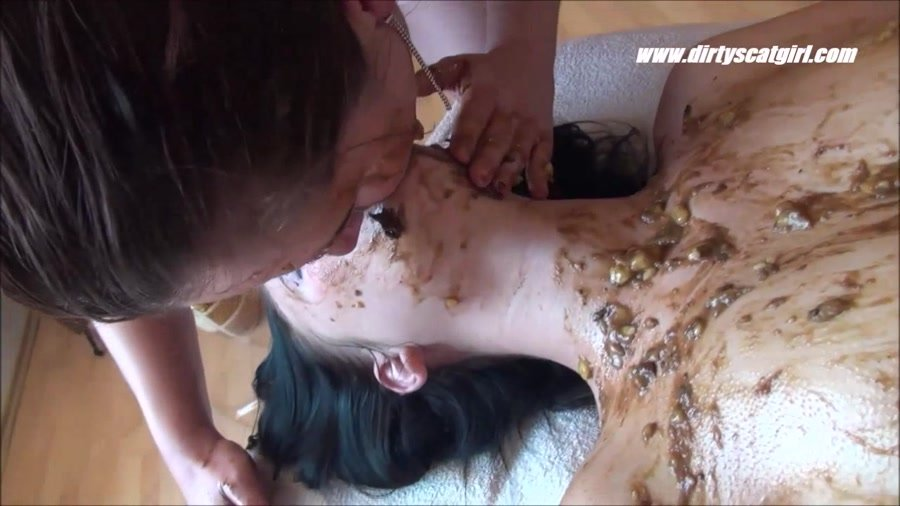 DirtyScatGirl.com: (Betty, Victoria, 1 males) - Shit Massage Parlour [HD 720p] -