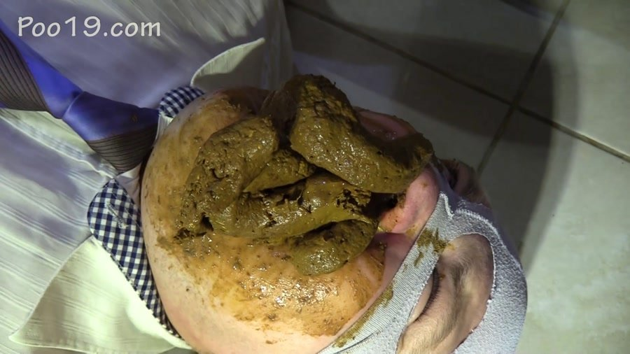 Toilet Slavery: (MilanaSmelly) - Accelerated eating of shit [FullHD 1080p] - Scat Porn, Humiliation