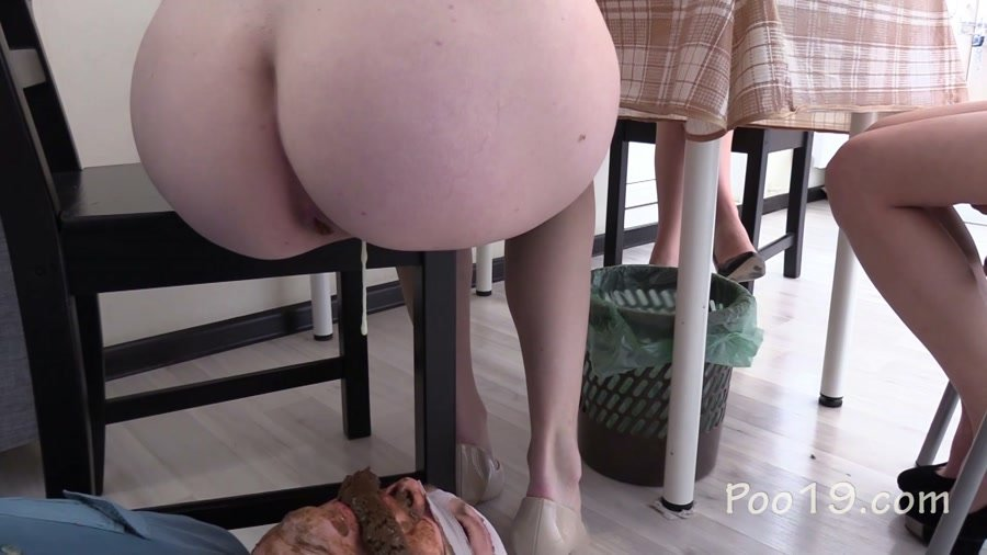 Femdom Scat: (MilanaSmelly) - Tea and Chocolate for the toilet slave [FullHD 1080p] - Defecation, Domination