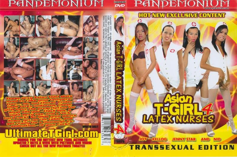 Pandemonium: (Kellog, Jenny Star, Nid, Joy) - Asian T-Girl Latex Nurses 4  [SD / 1.16 Gb] -