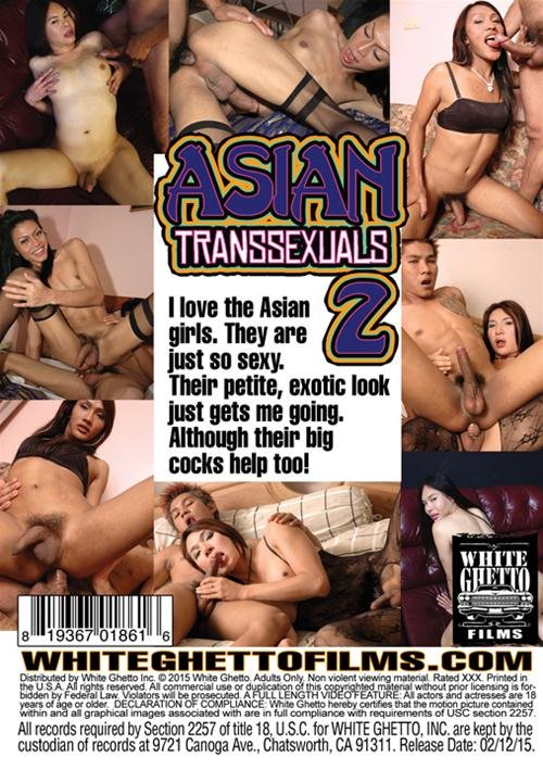 White Ghetto: (Amy, Wan, Phon, Amanda Jade) - Asian Transsexuals 2  [SD / 1.08 Gb] -