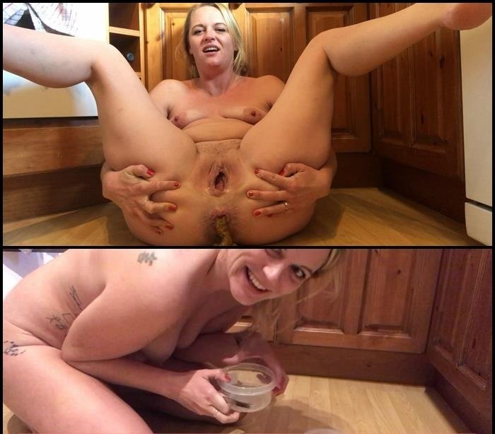 Amateur Acat: (Jojo3767) - Kitchen frontal and packaging up [Full HD] - Solo, Shitting Girls