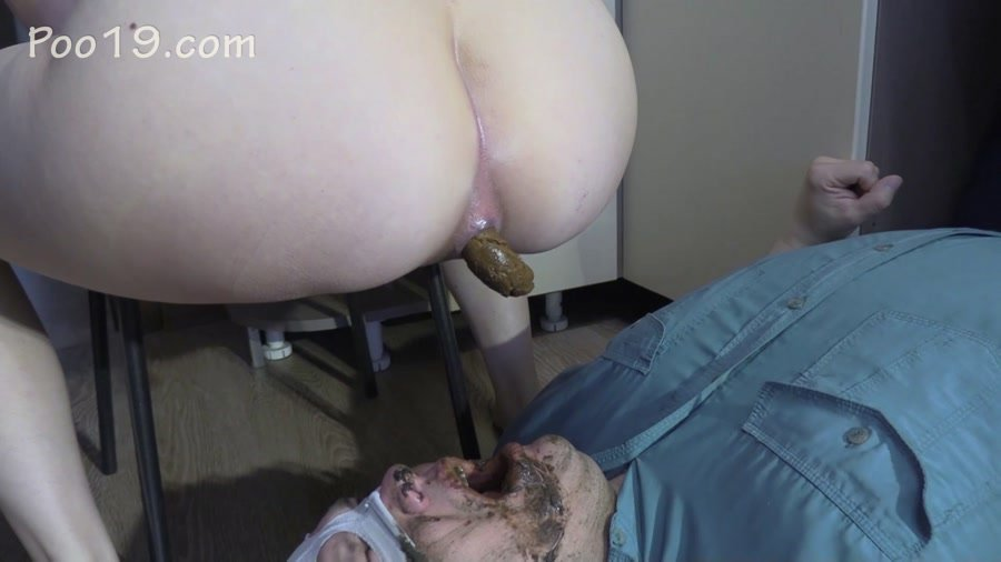 Scat Porn: (MilanaSmelly) - Lick my feet and swallow my shit [FullHD 1080p] - Femdom, Defecation