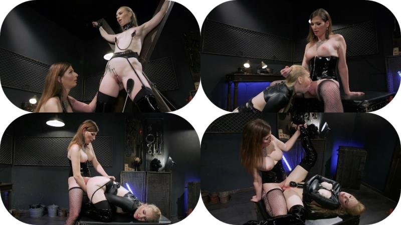 Kink.com: (Delirious Hunter, Jamie French) - Pretty Little Stray Pussycat  [SD / 612.05 Mb] -