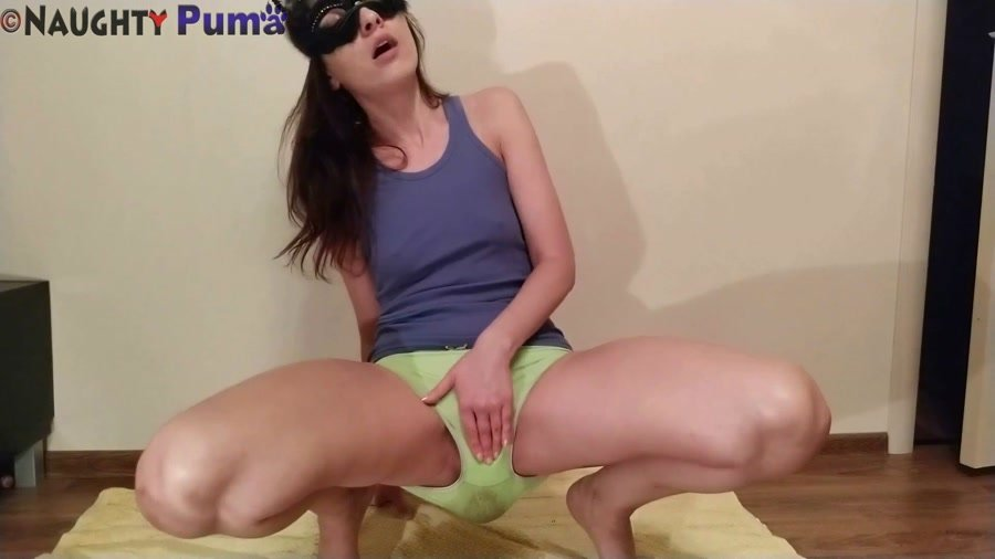 Panty Scat: (NaughtyPuma) - Wide open Joy for You [FullHD 1080p] - Amateur, Solo