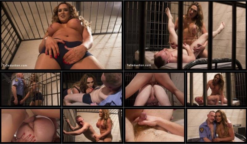 TSSeduction: (Damien Moreau, Lana Knight) - Caged Lady Meat! A Sexploitation Domination Extravaganza! [SD / 259.53 Mb] -
