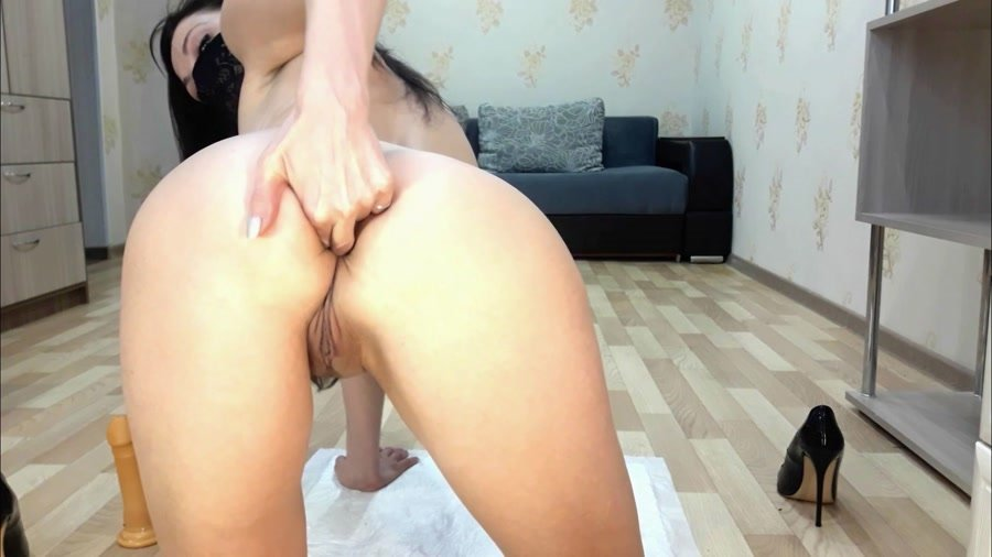 Scatting: (ScatLina) - Dirty anal [FullHD 1080p] - Masturbation, Toys