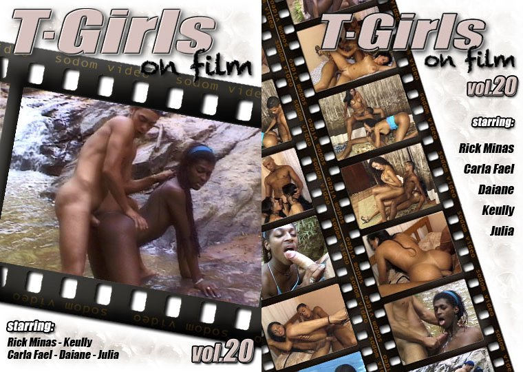 Sodom Video: (Carla Fael, Rick Minas, Daiane, Keully, Julia) - T-Girls On Film 20 [SD 720p / 1.26 GB] -