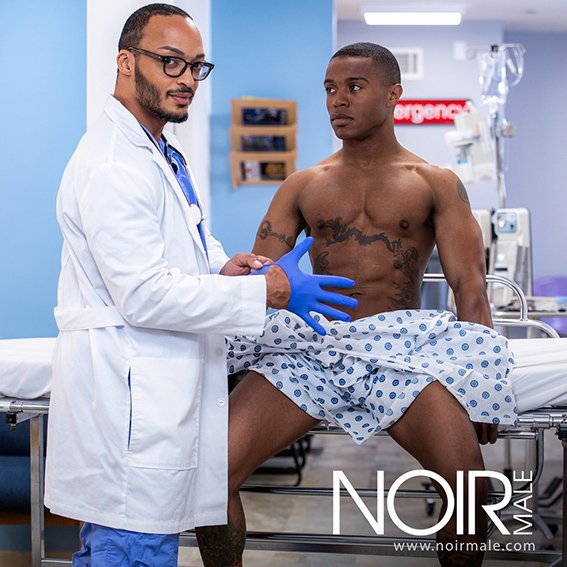 NoirMale.com: (Dillon Diaz, Jake Waters) - Healing Touch [HD / 420.55 Mb] -