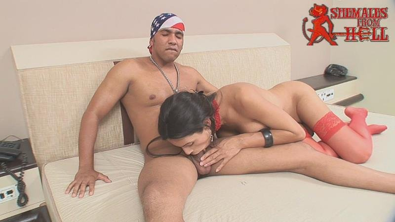 Shemales From Hell.com: (Bruna Rodrigues, Yago) - Hardcore [HD / 375.63 Mb] -