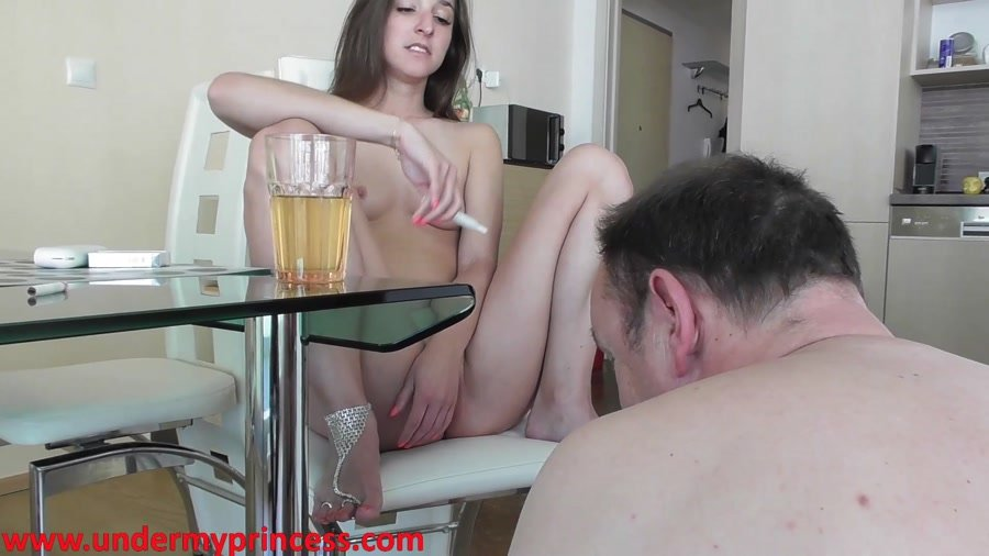 Extreme: (Mikadoshop) - Piss from glas talk about shit [FullHD 1080p] - Femdom, Piss