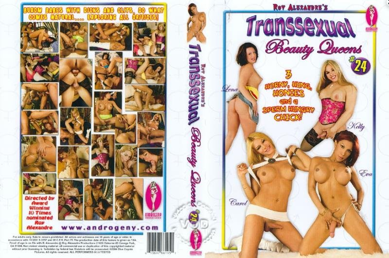 Blue Coyote Pictures / Androgeny: (Kelly, Eva, Carol, Lena) - Transsexual Beauty Queens #24  [SD / 1.37 Gb] -