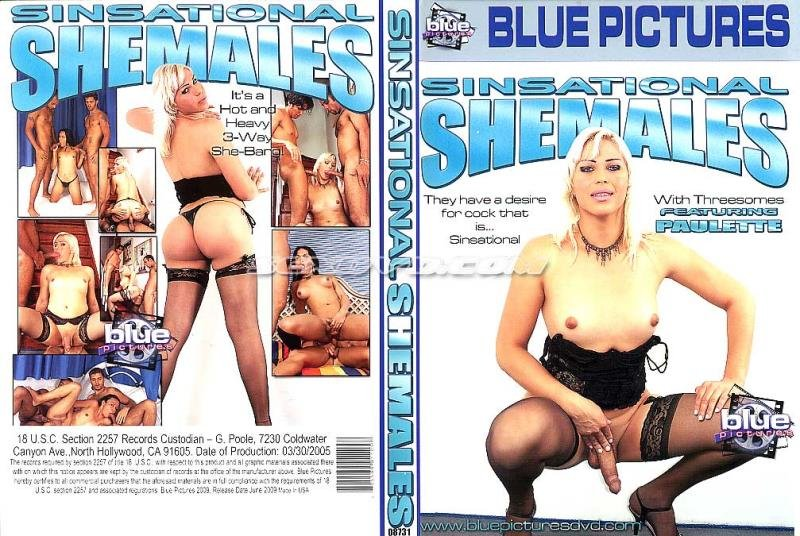 Blue Pictures: (Paulette Lawer) - Sinsational Shemales [SD / 1.69 Gb] -