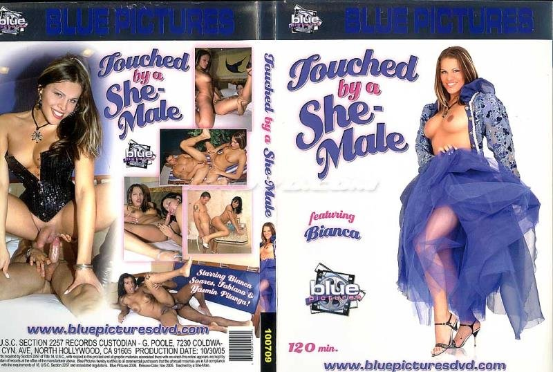 Blue Pictures: (Male on Shemale) - Touched By A She-Male [SD / 1.87 Gb] -