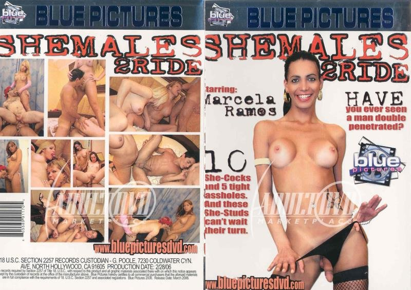 Blue Pictures: (Marcela Ramos, Fabiana, Claudia Betancourt) - SheMales 2 Ride [SD / 1.3 Gb] -