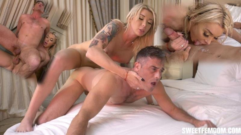 SweetFemdom.com: (Aubrey Kate, Lance Hart) - Fucked in a Hotel by Aubrey Kate [HD / 417.78 Mb] -