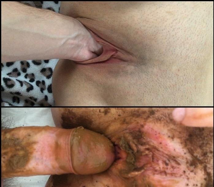 Scat Fuck: (Youngwildperverz) - Creampie of full scat pussy compilation [FullHD 1080p] - Anal, Amateur