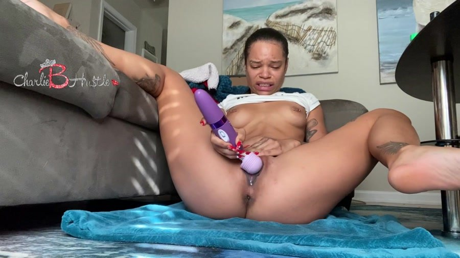 Dildo Scat: (ScatCatCharlieB) - Solo double penetration gone wrong [FullHD 1080p] - Solo, Shit