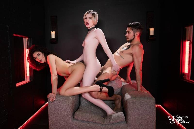 TransAngels.com: (Alisia Rae, Ella Hollywood) - Bitch Craft Part 3 [SD / 605.39 Mb] -