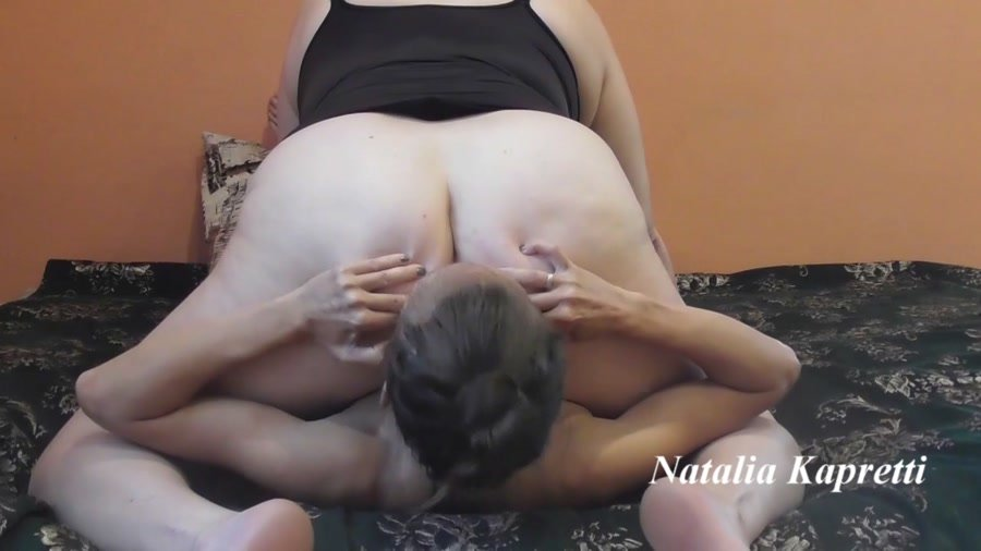 Amateur: (Mistress) - Enjoy my shit and piss constantly masturbate [FullHD 1080p] - Femdom, BBW