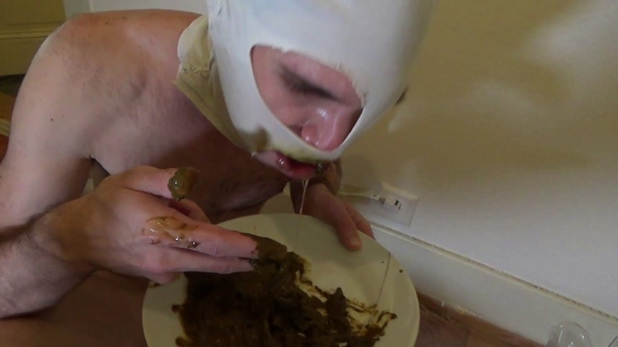 Domination Scat: (Lila) - Yummy shit in a plate [FullHD 1080p] - Femdom, Shit