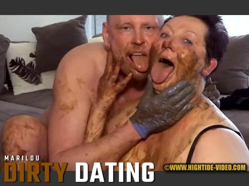 Hightide-Video.com: (Marilou, 1 male) - DIRTY DATING [HD 720p] - Milf, Blowjob, Shit