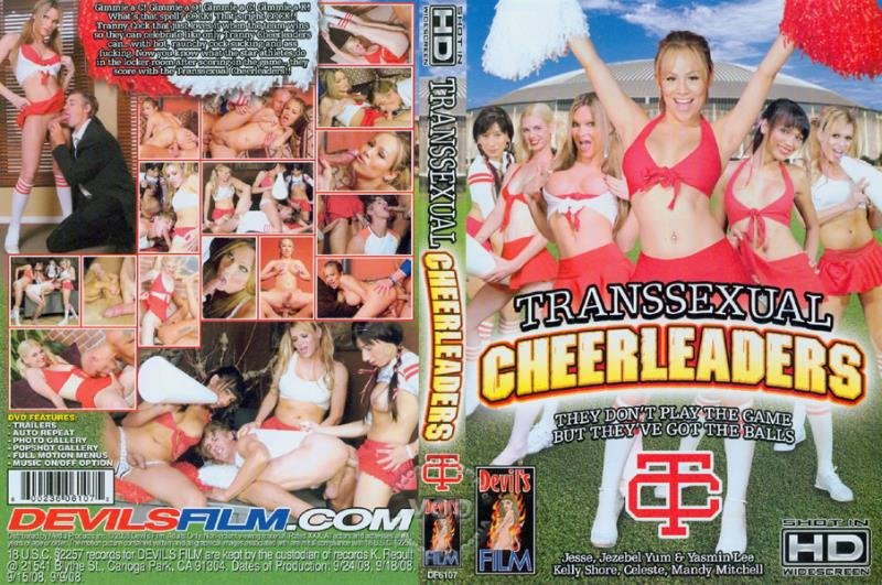 Devil's Film: (Yasmin Lee, Celeste, Mandy Mitchell, Jezebel Yum, Kelly Shore, Jesse Flores) - Transsexual Cheerleaders 1 [SD / 1.16 Gb] -
