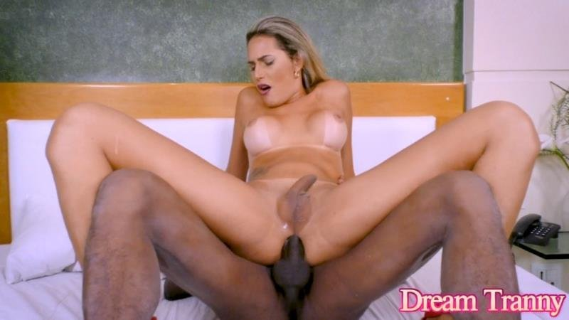 DreamTranny.com: (Bella Atrix) - Bella Atrix Fucked Hard By a Black Man [HD / 1.19 Gb] -