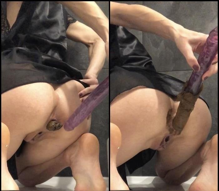 Scatting: (TheHealthyWhores) - Morning play [FullHD 1080p] - Solo, Dildo