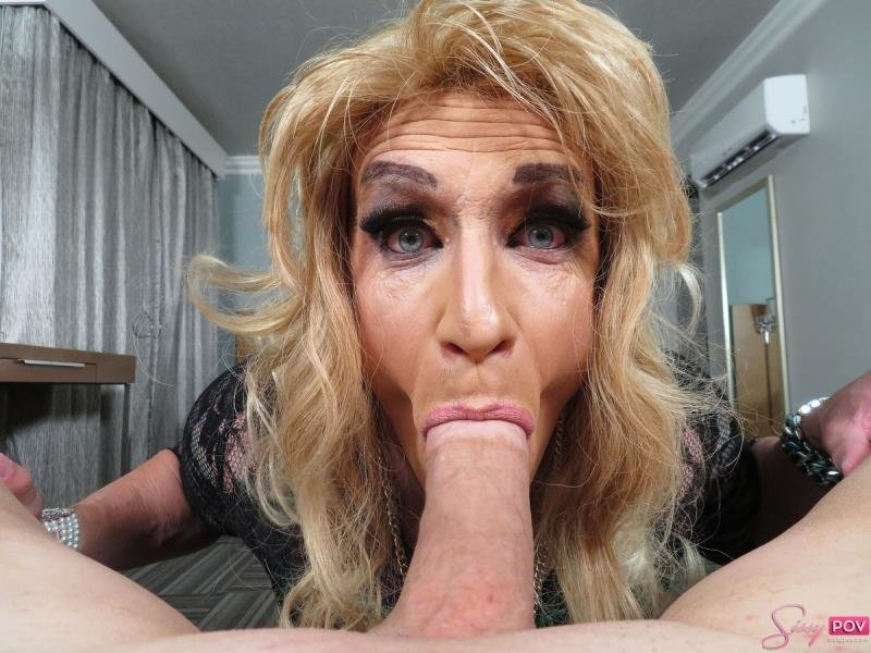 SissyPOV.com: (Cherry) - Mature CD Hotel BJ Fun [FullHD / 668,65 Mb] -