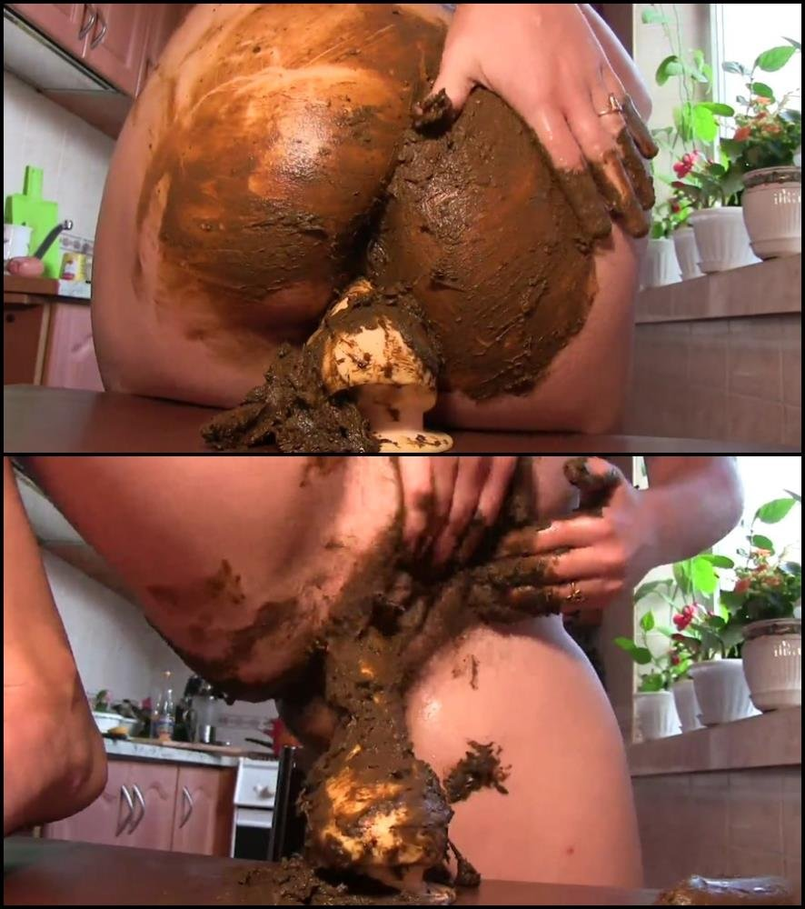 Fucking In Shit Porn copro - masturbation and pooping, fuck cunt dildo in shit
