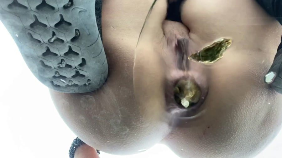 Outdoor Scat: (VeganLinda) - Big Shit on my Rental Car in Spain [FullHD 1080p] - Extreme, Solo